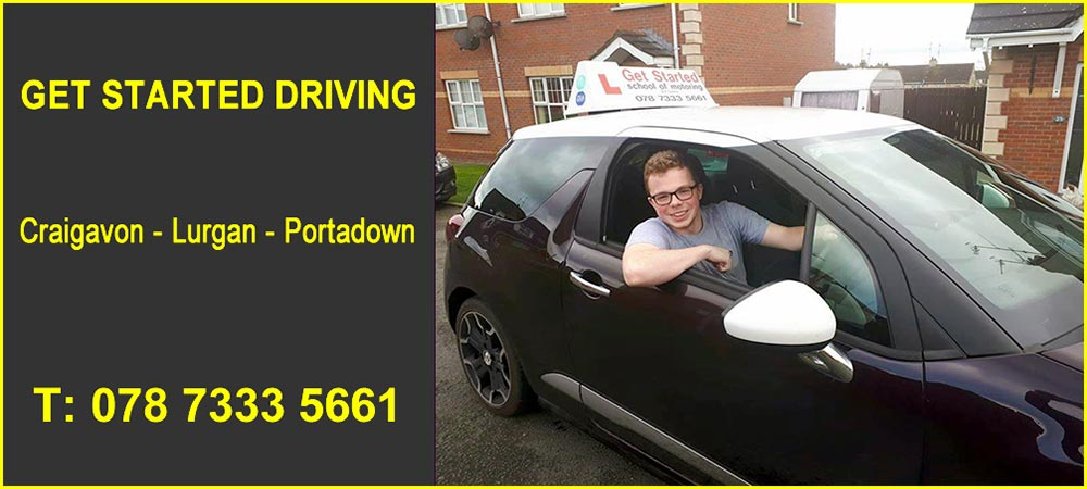 Driving Lessons in Craigavon Banner