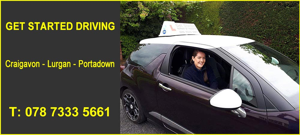 Driving Lessons in Lurgan Banner